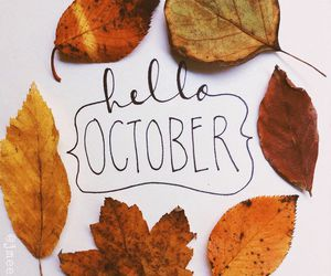 october, autumn, and fall image
