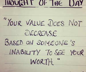 quotes, value, and worth image