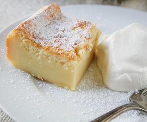 cake and custard image