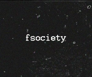 mr robot, fsociety, and computer image