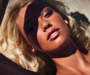 bronze, makeup, and makeup artist image
