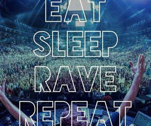 rave, repeat, and eat image