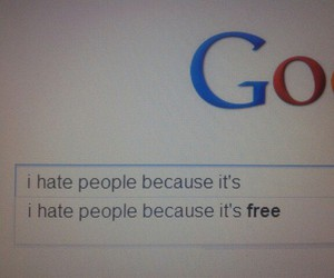 hate, google, and free image