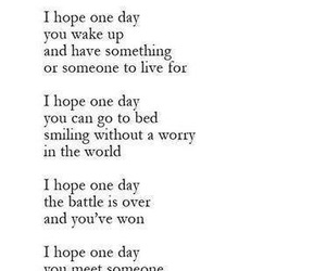 hope, quote, and love image