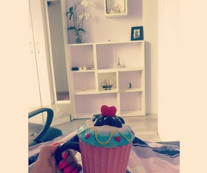 cupcake, relax, and white image