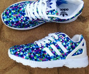 adidas, shoes, and multicolour image