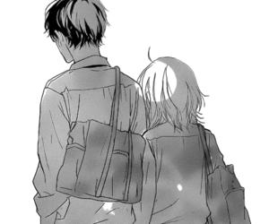 manga, couple, and strobe edge image