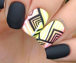 cool, pretty, and nails art image