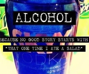 alcohol, story, and vodka image