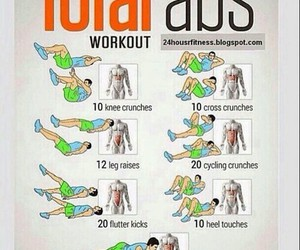 abs and workout image