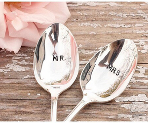 wedding, spoon, and mr image