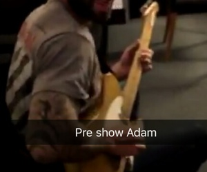 handsome, snapchat, and adam levine image