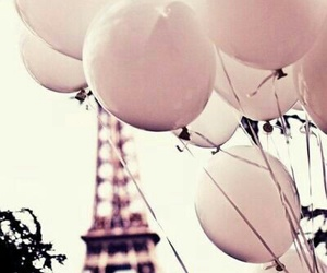 background, vintage, and balloons image