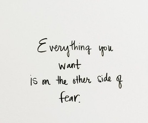 quotes, fear, and inspiration image