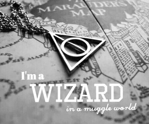 muggle, harry potter, and black and white image