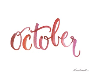october and quote image