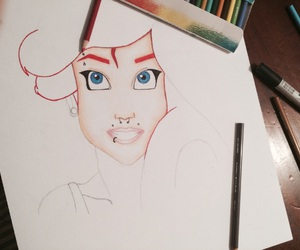 ariel, color, and draw image
