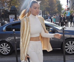 gigi hadid, model, and style image