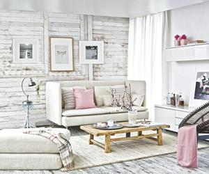 decoration, grey, and pink image