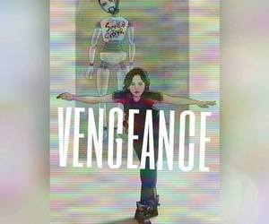 the hunger games, hunger games, and vengeance image