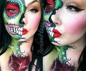 halloween make up image