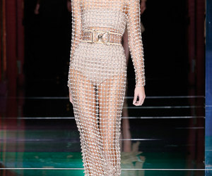 Balmain, details, and Couture image
