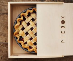 baking, pie, and thanksgiving image