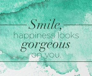 smile, gorgeous, and happiness image