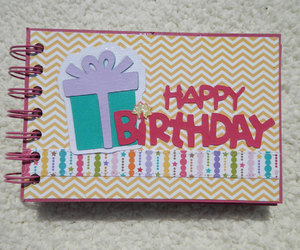 birthday, scrapbook, and birthdayparty image