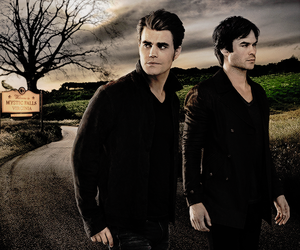 brothers, ian somerhalder, and paul wesley image