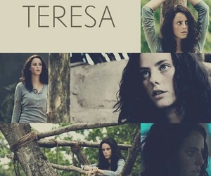 teresa, the maze runner, and books image