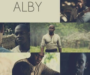 alby, the maze runner, and books image