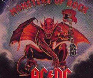 ac dc, Devil, and guitar image