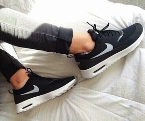 fashion, nike, and sneakers image