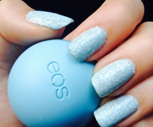 eos, make up, and blue image