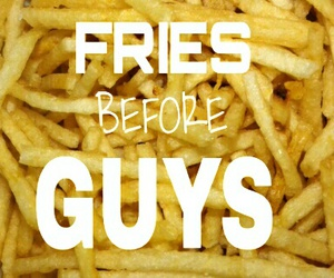 fries, guys, and lol image