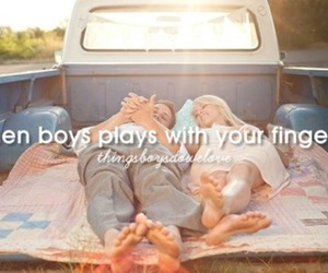 boys, couple, and fingers image