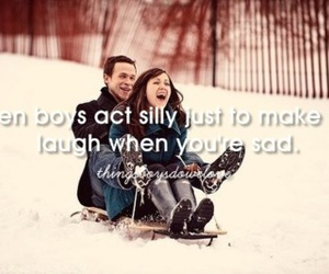 couple, laugh, and love image