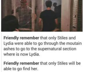 teen wolf, stydia, and dylan o brien image