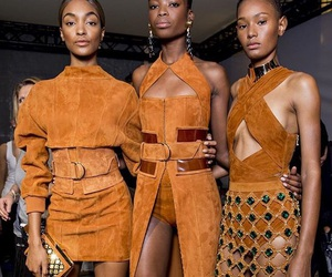 Balmain, fashion, and Jourdan Dunn image