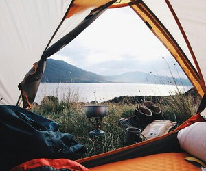 nature, camping, and travel image
