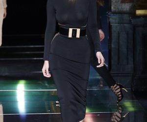 bella hadid and Balmain image