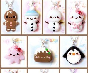 charm, christmas, and fimo image