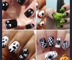 art, Halloween, and nails image