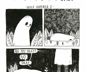 ghost, grunge, and sad image
