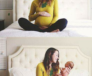 baby, mommy, and pregnancy image