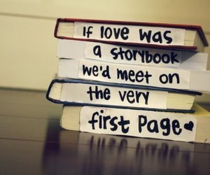 love, book, and quote image