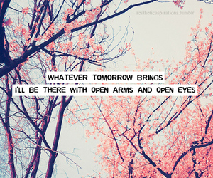 quote, text, and pink image