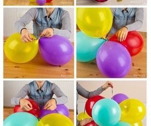 beautiful, party ideas, and balloons image