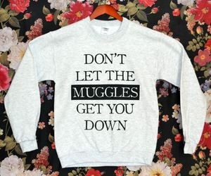 harry potter, muggles, and sweater image
